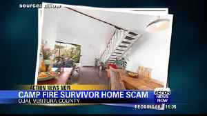 Camp Fire survivor loses $400K to wire fraud [Video]