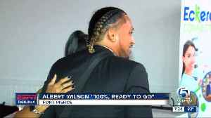"""Miami Dolphins WR Albert Wilson says he's """"100%,"""" ready to go [Video]"""