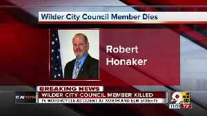 Wilder city council member killed in motorcycle crash [Video]