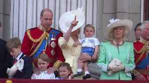 News video: Queen's official birthday marked in London with Trooping the Colour parade