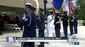 Forgotten veterans laid to rest in Lake Worth [Video]