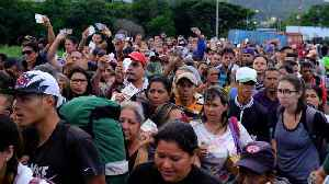 Venezuela reopens border with Colombia after four months [Video]