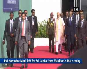 PM Modi departs for Sri Lanka from Maldives [Video]
