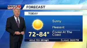 Video: Another sunny, pleasant day to close out weekend [Video]