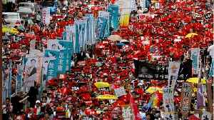 News video: Hundreds of Thousands March In Hong Kong to Protest China Extradition Bill