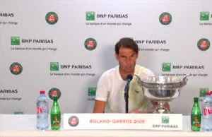 News video: Nadal says not obsessed about Federer's record