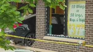 Off-Duty Officer Charged With DUI After Car Crashes Into Restaurant, Killing Mother Of 2 [Video]
