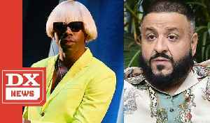 """Tyler The Creator Clowns DJ Khaled For Calling IGOR """"Mysterious"""" After Beating Father Of Asahd Sales [Video]"""