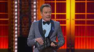 Bryan Cranston Wins Best Leading Actor In A Play At The 2019 Tony Awards [Video]