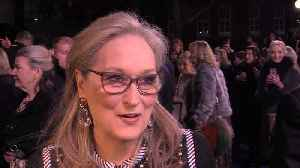 Meryl Streep urges younger feminists to keep fighting sexism [Video]