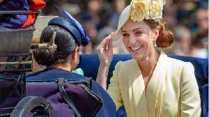 Kate Middleton Gives Subtle Nod To Meghan And Harry With Outfit [Video]