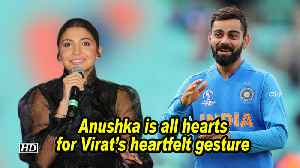 Anushka is all hearts for Virat's heartfelt gesture   World Cup 2019   Steve Smith [Video]