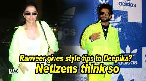 Ranveer gives style tips to Deepika? Netizens think so [Video]