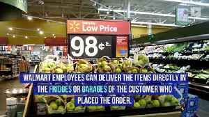 Walmart Can Now Deliver Groceries Straight to Your Fridge [Video]