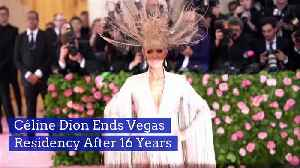 Céline Dion Ends Vegas Residency After 16 Years [Video]
