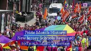 Pride Month History: New Jersey Schools Required to Teach LGBTQ History [Video]