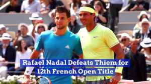 Rafael Nadal Takes The 2019 French Open Title [Video]