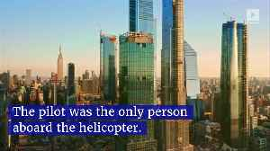 Helicopter Crash Lands on Roof of NYC Skyscraper [Video]