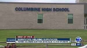 Columbine survivor helping STEM school students with 'calm down boxes' [Video]