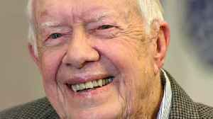 Bouncing back from hip injury, Jimmy Carter resumes side gig [Video]