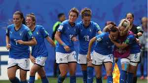 Italy shocks Sam Kerr's Australia at women's World cup [Video]