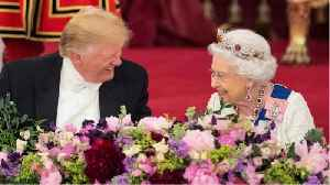 Trumps boasts about connection with Queen Elizabeth II [Video]