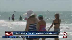 High rip current risks in effect in Lee and Charlotte counties [Video]