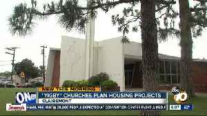 Churches look for ways to build affordable housing to help homeless [Video]
