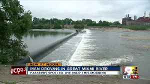 Man drowns in Great Miami River [Video]
