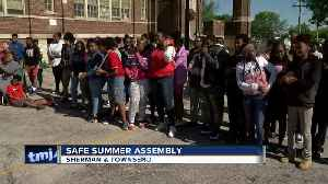 School assembly promotes safety as summer nears [Video]