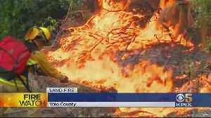 Cal Fire Able To Increase Containment On Sand Fire [Video]