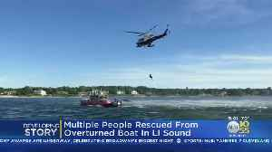 Dramatic Rescue On The Long Island Sound [Video]
