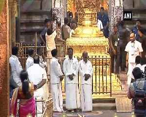 News video: PM Modi offers prayers to Lord Venkateswara at Tirupati Temple in Andhra Pradesh
