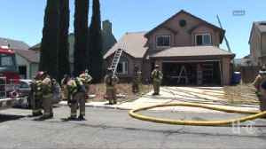 Fire damages two-story home in Bay Terraces [Video]