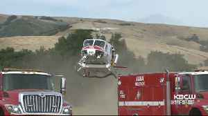 Wildfire Near Morgan Hill Quickly Grows To 210 Acres [Video]