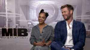 News video: 'Men In Black: International': Interview With Chris Hemsworth, Tessa Thompson, Kumail Nanjiani & F. Gary Gray