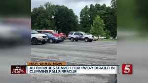 Search for missing 2-year-old boy at Cummins Falls to resume this morning [Video]