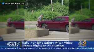 News video: Video Sparks Rally For Bike Safety