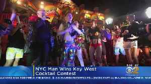 N.Y. Man Wins Key West Cocktail Contest [Video]