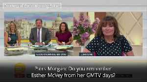 News video: Lorraine Kelly and Esther McVey in awkward tv exchange