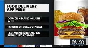 NYC Council To Look Into Food Delivery App Fees [Video]