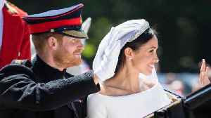 News video: Prince Harry and Duchess of Sussex's private wedding photos reportedly hacked