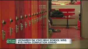 Two WNY high schools recognized in FAFSA challenge [Video]