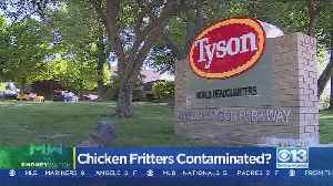 Tyson Foods Recalls More Than 190K Pounds Of Chicken Fritters Shipped Nationwide [Video]