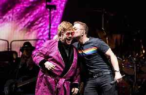 Taron Egerton's surprise appearance at Elton John's 'Farewell Yellow Brick Road' Tour [Video]