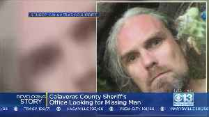 Search On For Missing Person, David Gordon Johnson, In Calaveras County [Video]