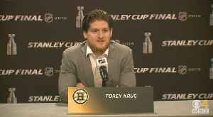 News video: Torey Krug Ready For First Stanley Cup Game 7 In Boston