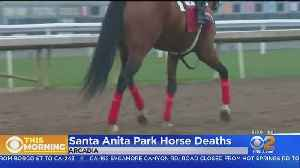 Last Week Of Racing At Santa Anita Park To Continue Even After 2 More Horse Deaths [Video]