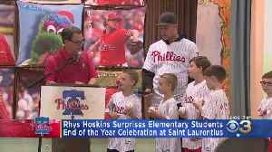 Rhys Hoskins Surprises Elementary Students [Video]
