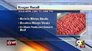 Kroger recall alert: Ribeye and ground beef products [Video]